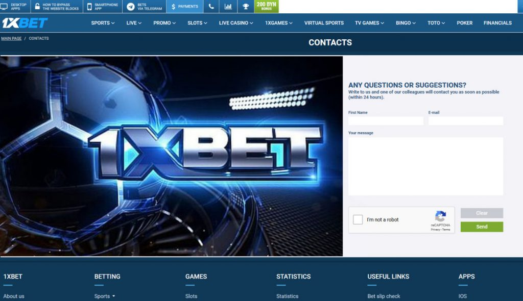 1xbet is one of the trusted bookmaker companies in the world.