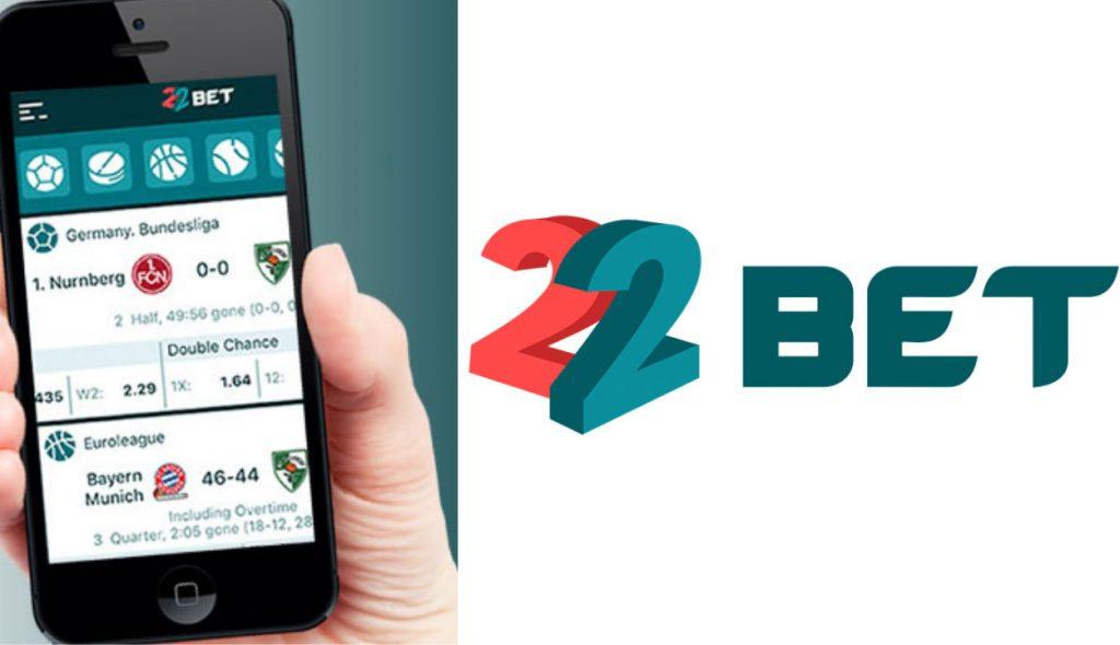 22Bet international betting company