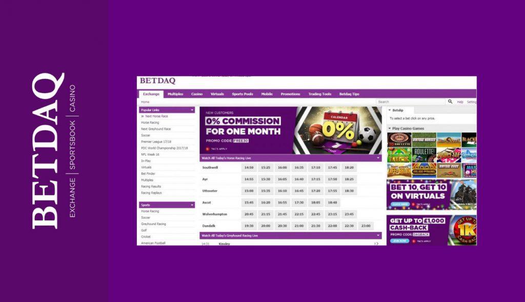 BETDAQ betting exchange platform
