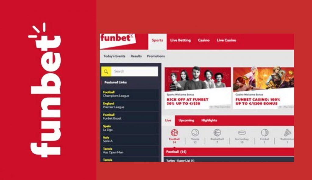 Funbet betting exchange platform