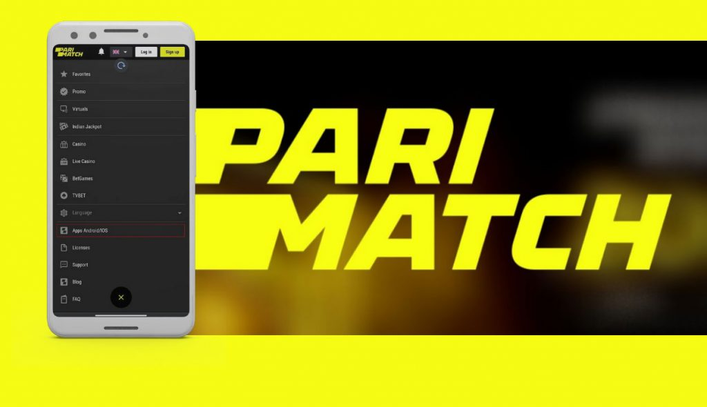 How to do live betting at Parimatch app