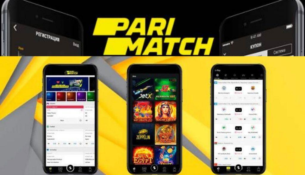 Live betting app Parimatch